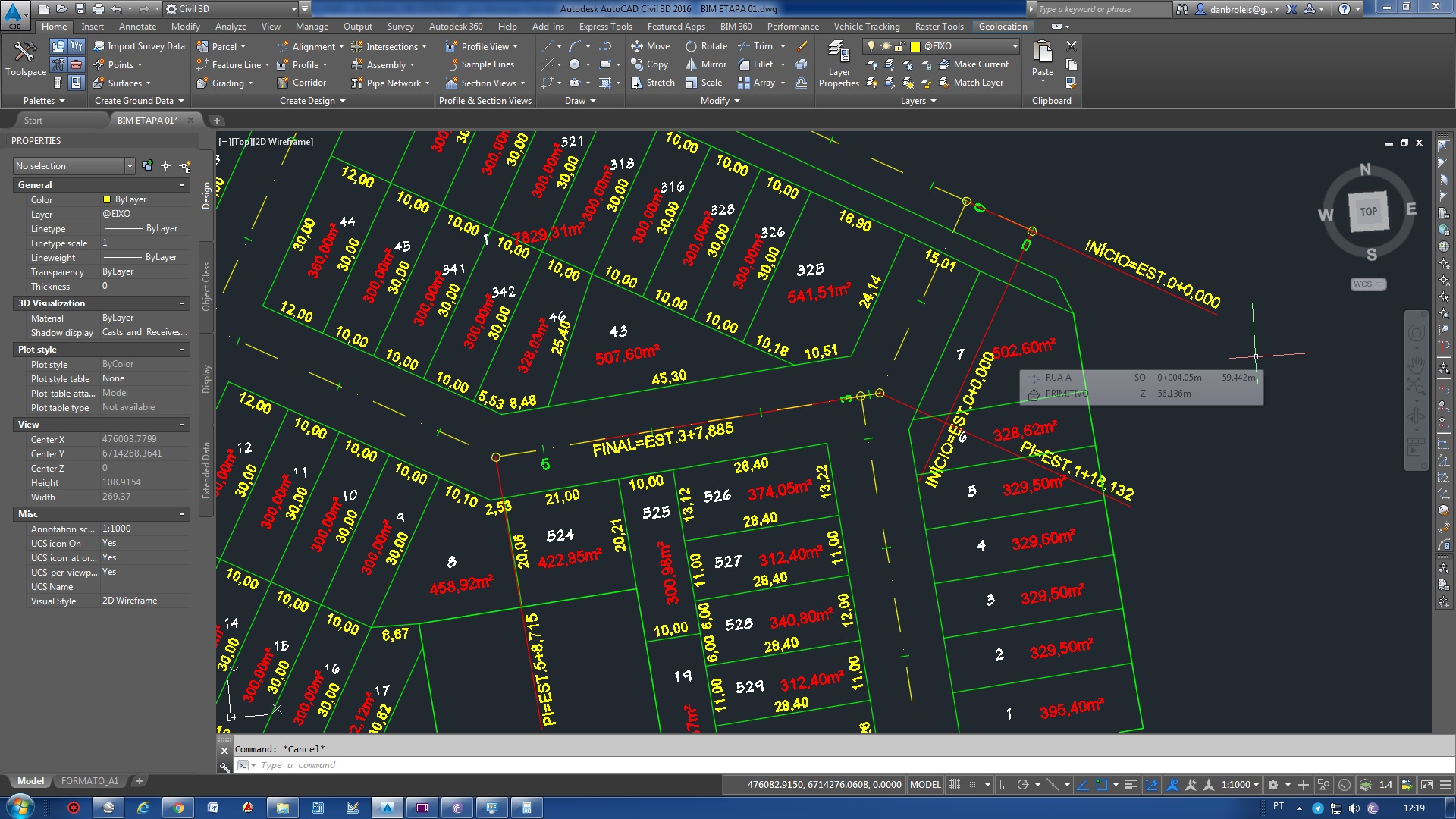 bim01 - AutoCAD Civil 3D Para Loteamento e Terraplenagem