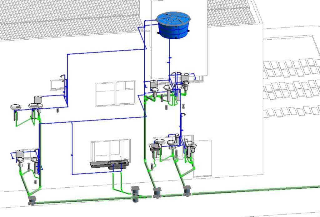 curso foto 1450790481 projeto revit mep ead rendering 03 - Revit Para Projeto Hidráulico