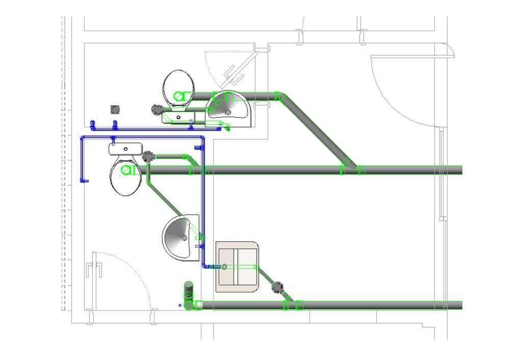 curso foto 1450790554 projeto revit mep ead rendering 06 - Revit Para Projeto Hidráulico