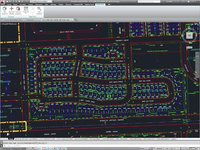 loteamento2  35094 zoom - AutoCAD Civil 3D Para Loteamento e Terraplenagem